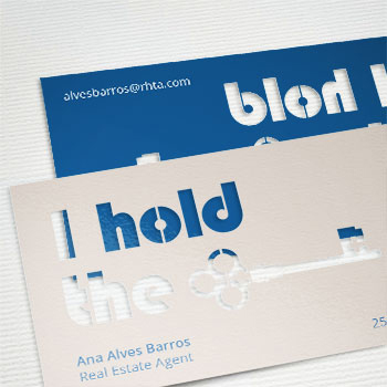 Cutout Business Cards