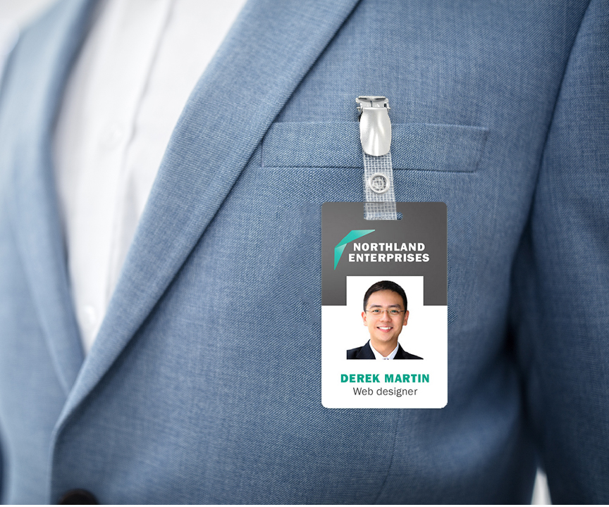 Badge Plastic Card