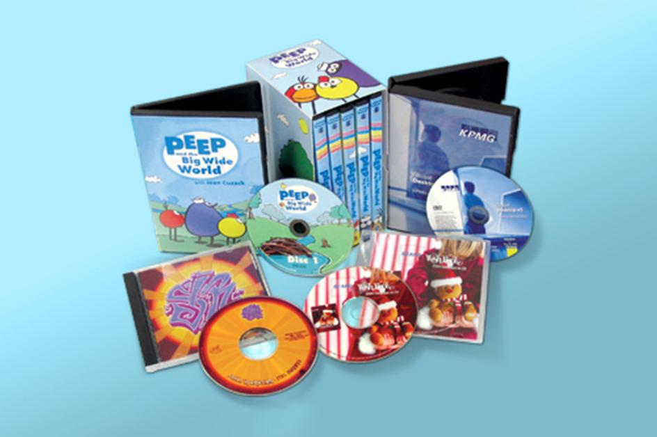 CD / DVD Printing