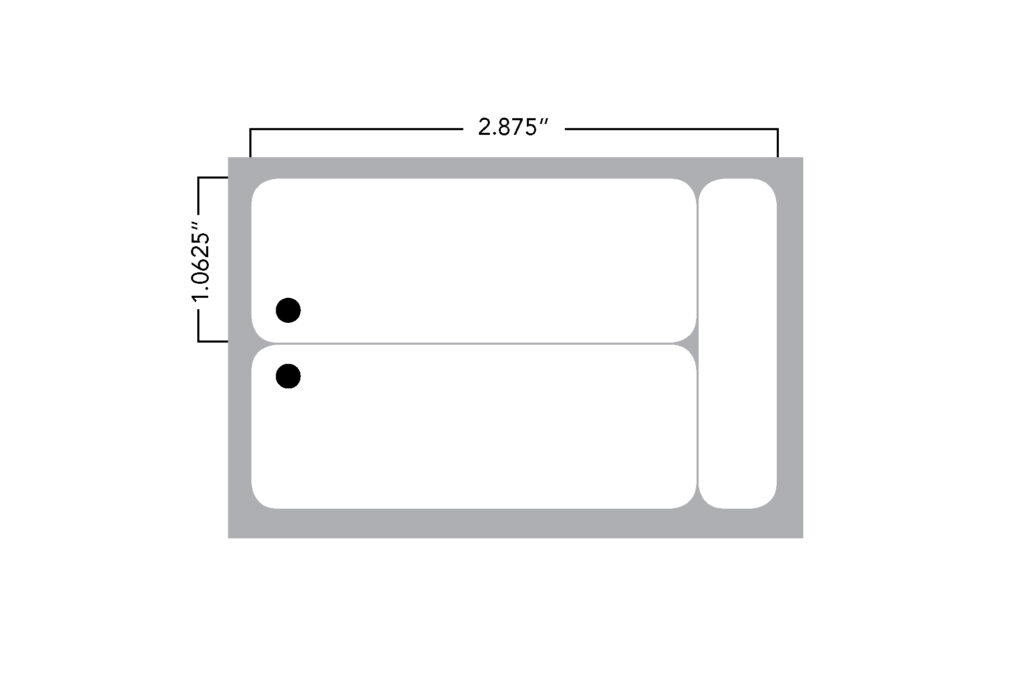 Small Name Tag Dimensions