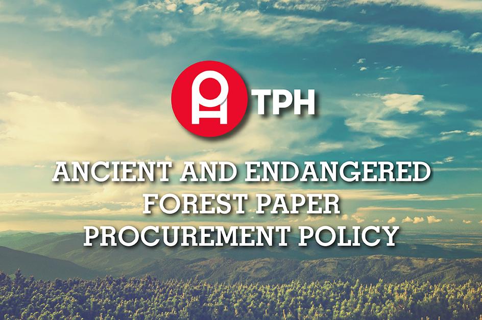 Paper Procurement Policy