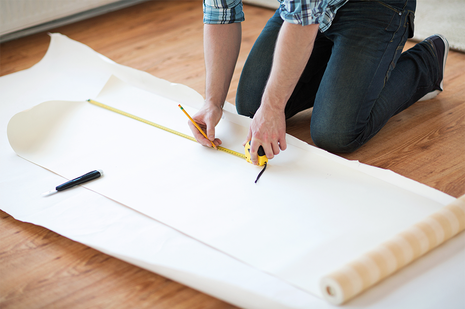 How to Measure for Wall Coverings